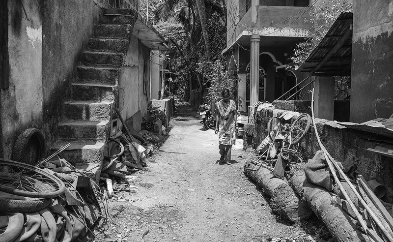 Typical Village 'Street'...