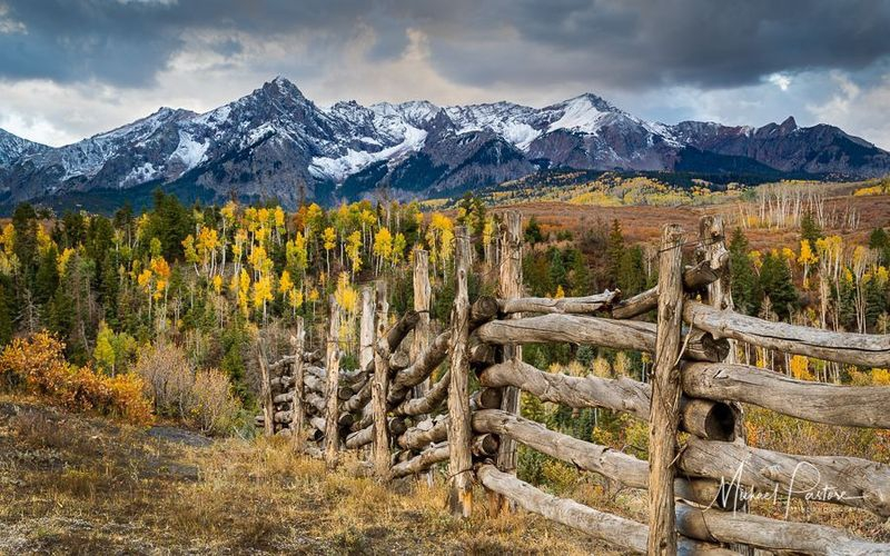 Colorado Fence Line