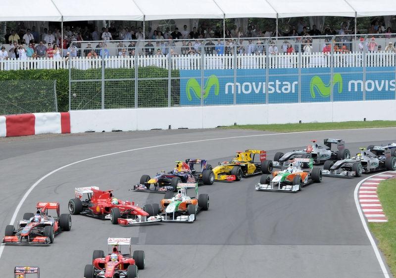 Race Start - Turn 1
