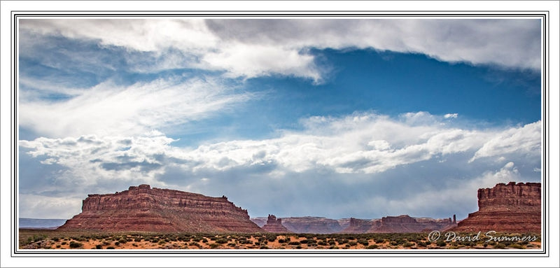 Big Sky in the Valley of the Gods