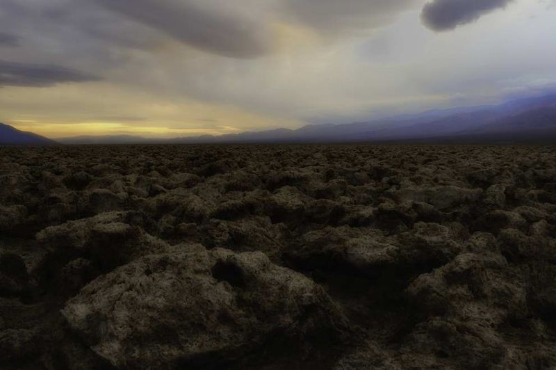 Death Valley Devil's Golf Course