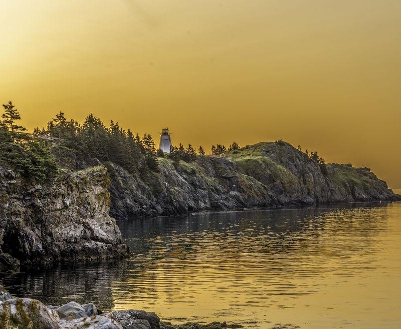 Swallowtail Light at Sunrise
