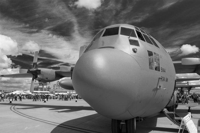 C-130 at Fairford RIAT