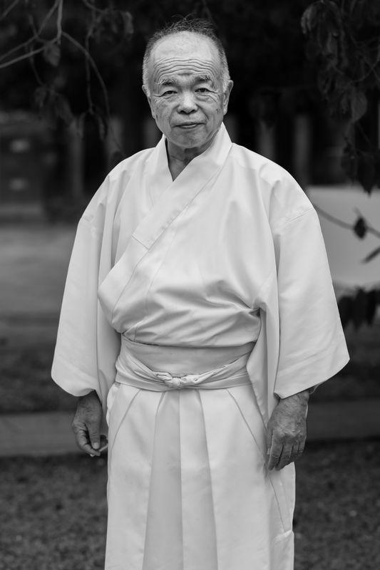 Kitano Tenmangu Monk