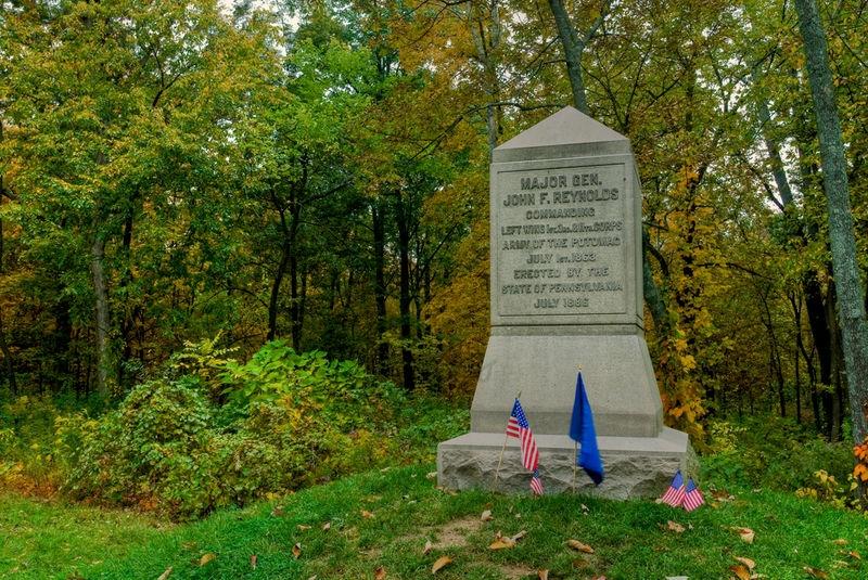 Gen. Reynolds Killed