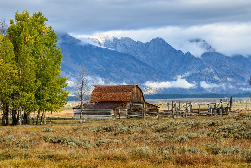 Moulton Barn - Grand Teton NP