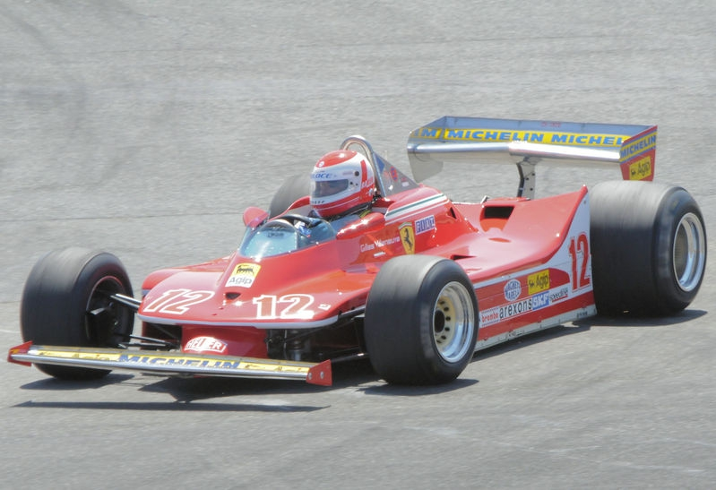 August 2009, Historic Grand Prix Cars, Turn 7