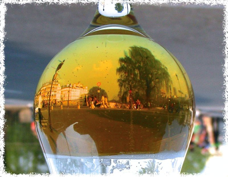 Paris in a glass