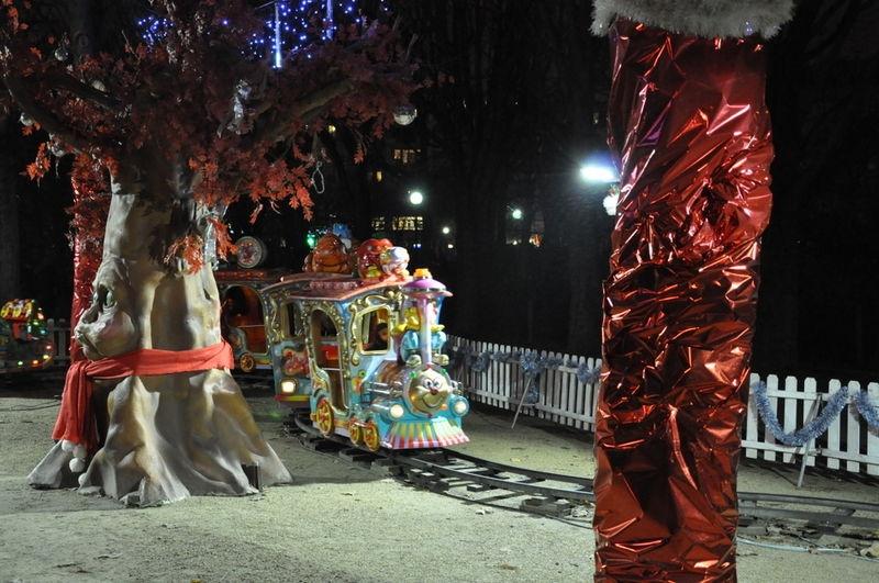 Christmas fair in Paris