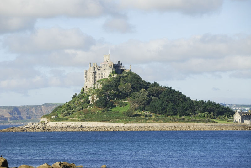 St Michaels Mount from south view