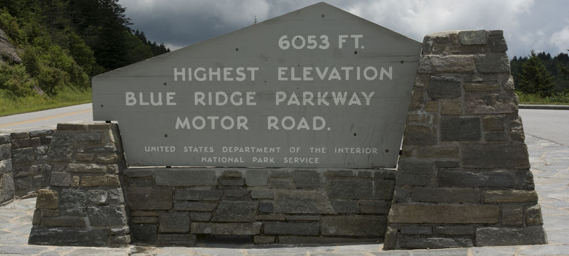 6053ft. Blue Ridge Parkway