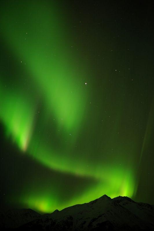 March 2011 Alaska Aurora