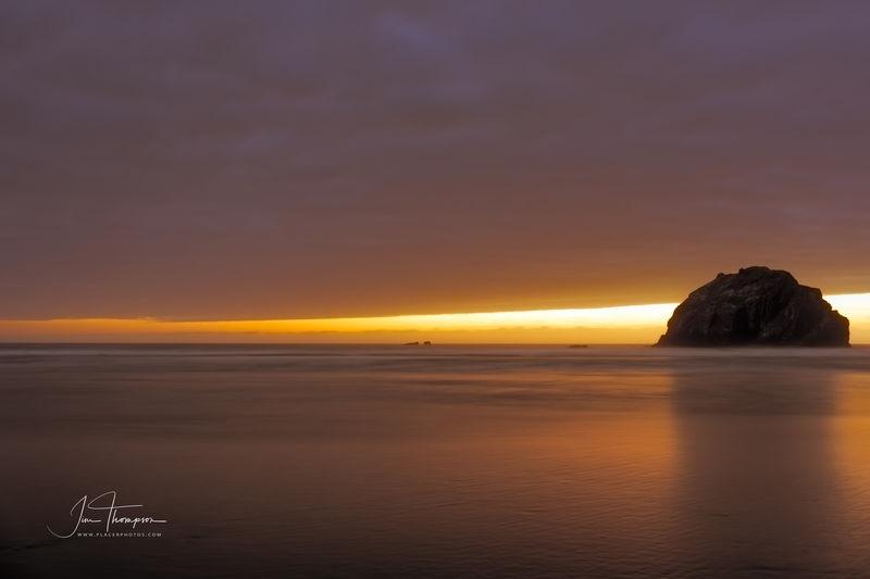 Narrow Sunset