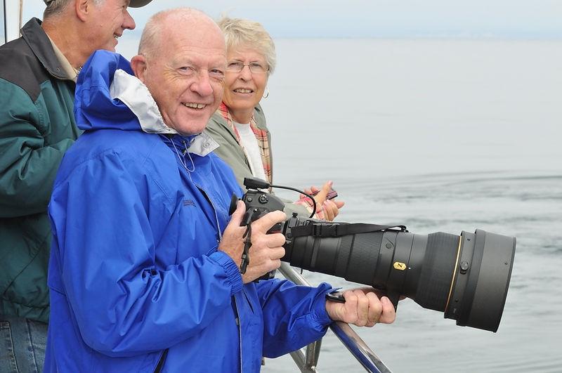 Pete Beckett Whale Watching