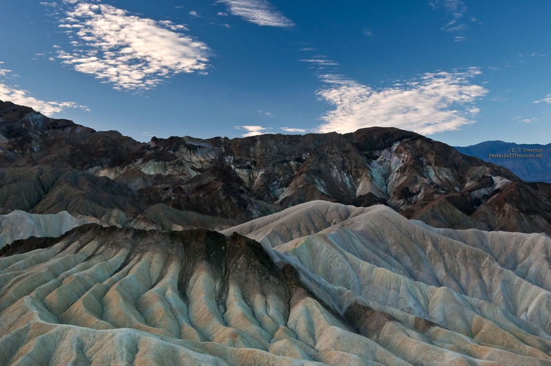 Point Zabriskie in Early Morning