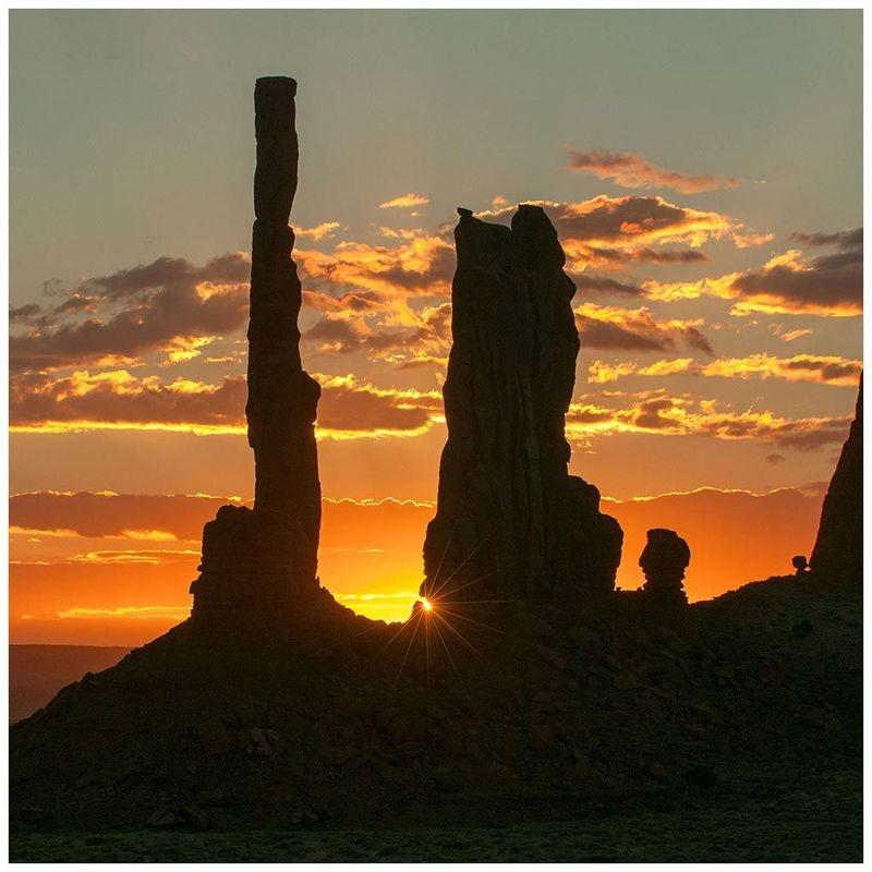 Totem Pole at Sunrise