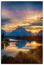 Sunset, Ox Bow Bend /DAJolley/