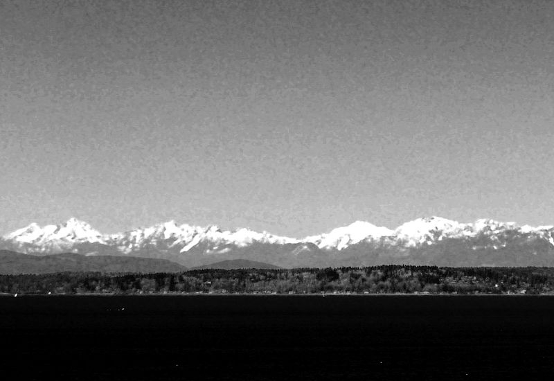 Olympic Mountains #12
