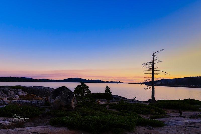Loon Lake Sunset