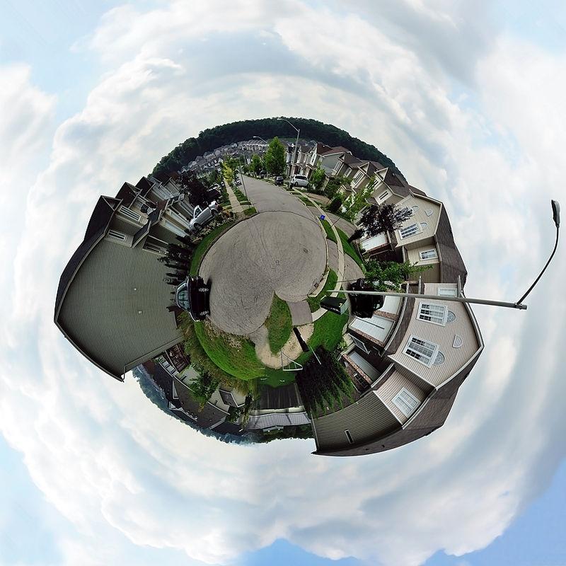 my neighbourhood globe