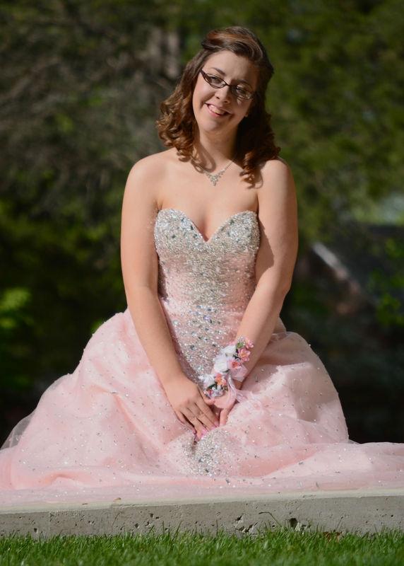 Meg Senior Prom