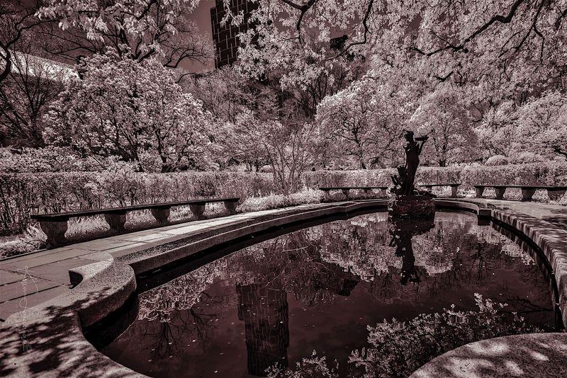 Conservatory Garden Central Park Fountain