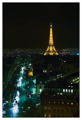 Paris nightscape