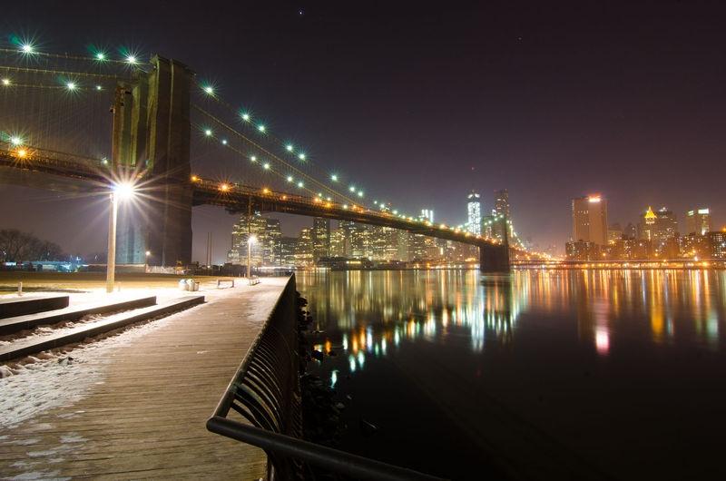 Brooklyn Bridge and Manhattan from Dumbo