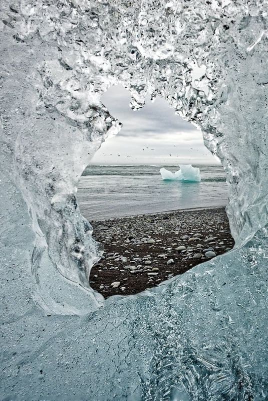 View from an Iceberg Window