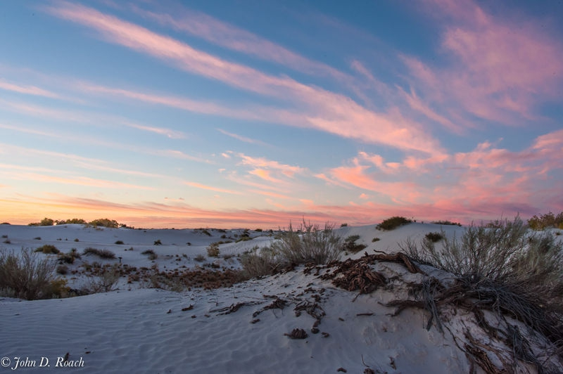 Another White Sands Sunrise