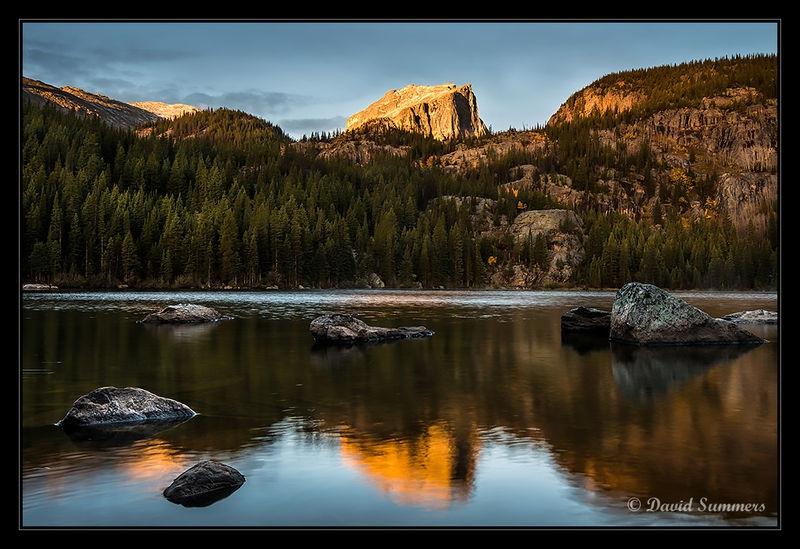 Bear Lake after sunrise