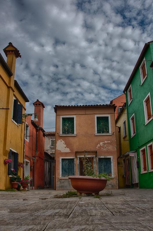 Neglected Courtyard, Burano