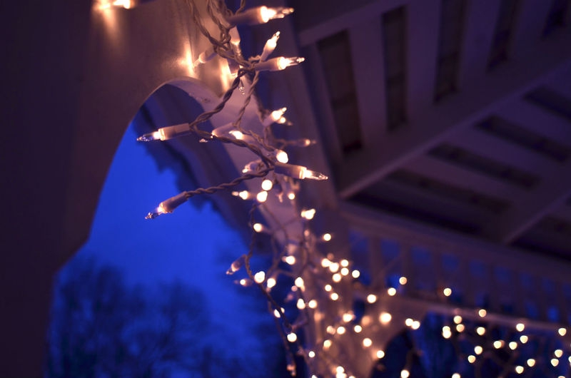 night lights gazebo