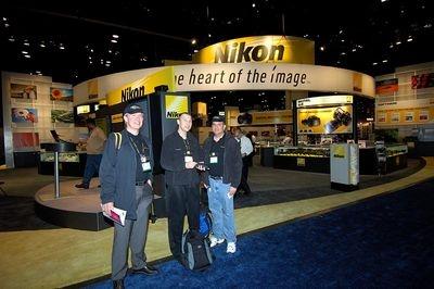 Nikonians at the Nikon USA Stand