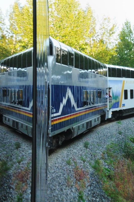 Holland America on Alaska Rail
