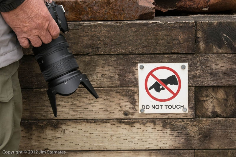 DO NOT TOUCH MY NIKON!