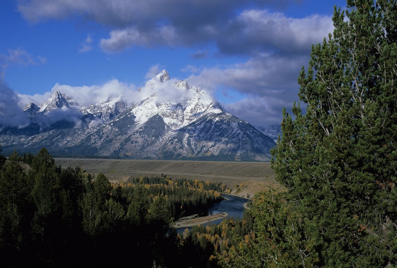 Grant Tetons and Snake River