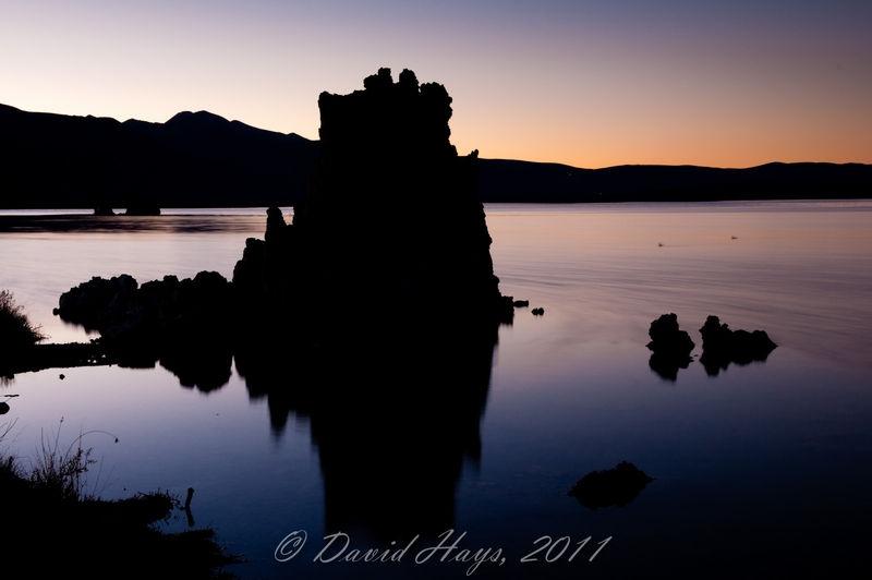 Mono Lake after Sunset