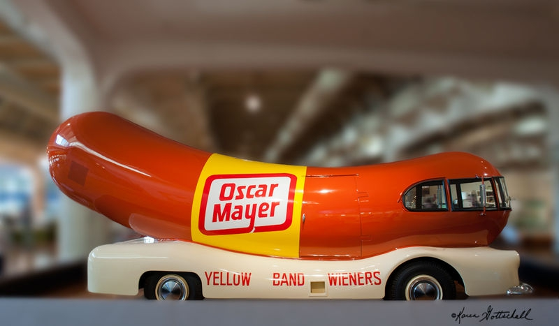 Oscar Mayer Wienermobile-The Henry Ford Museum