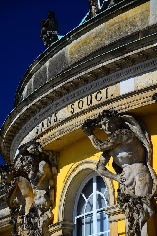 Sans Souci Palace, Potsdam, Germany