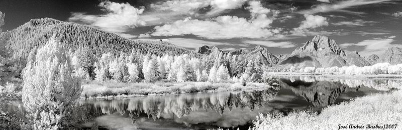 Oxbow Bend Infrared Pano
