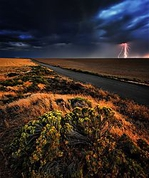 Winner September Landscape Theme: Thunderstorm at Sunset Nikon D800, F/16, 30 seconds, ISO 100, 16-35VR @ 16mm