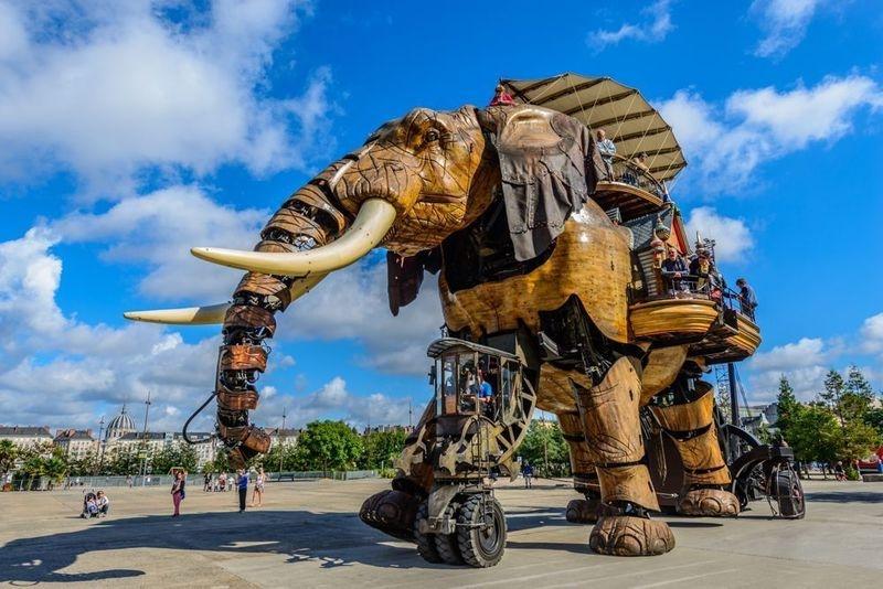 Le Grand Elephant de Nantes