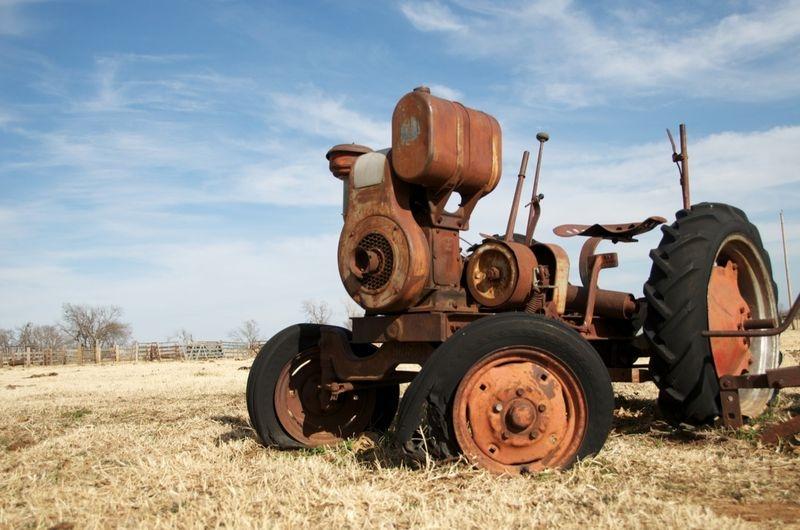 Old Harvesting Equipment