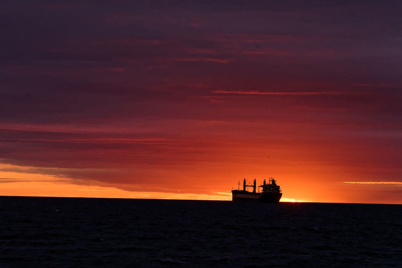 Marine sunrise.
