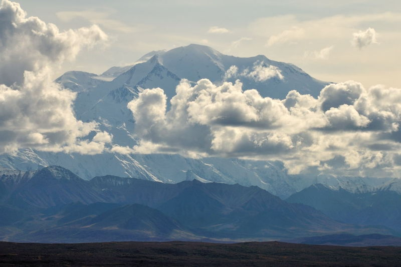 Mt. McKinley from the Wonder Lake road