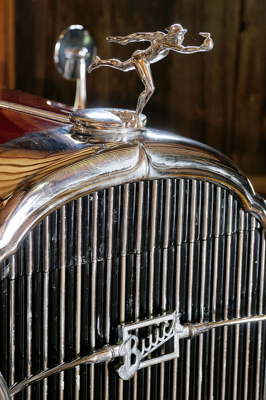 Buick Hood Ornament and Grill