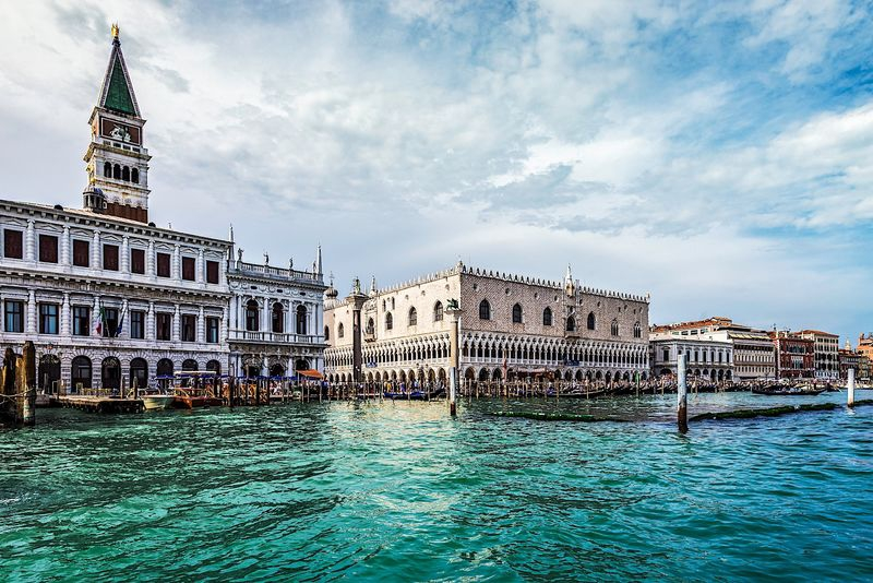 View of San Marco Square from Grand Canal
