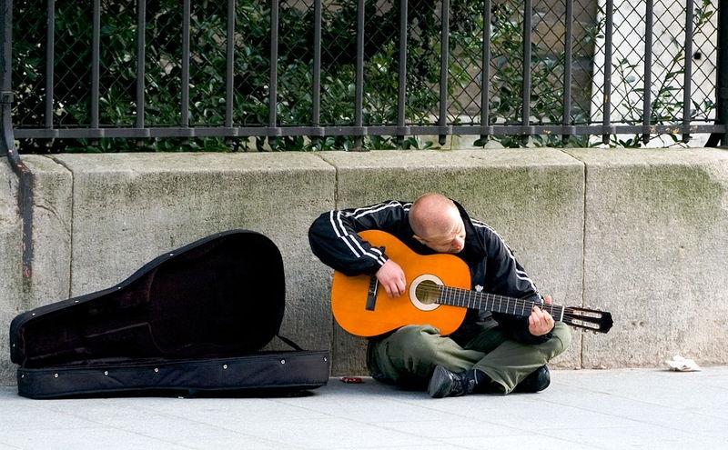 Latin Quarter Street Guitarist