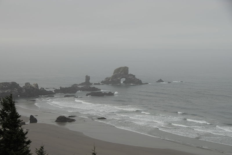 Oregon Coast - Tillamook Head Trail, Seaside Oregon